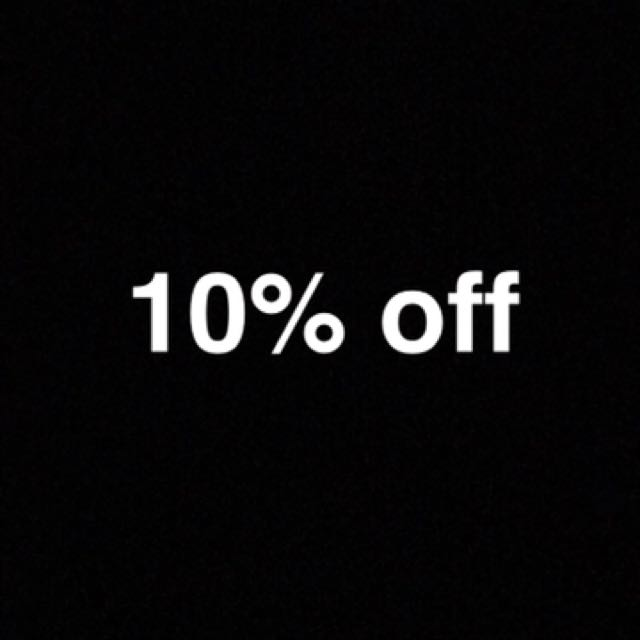 10% Off My Page Now