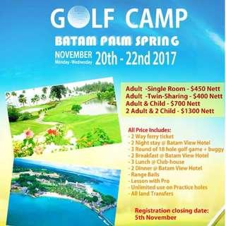 Batam Golfcamp