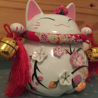 Lucky cat (large)