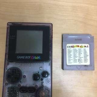 經典 Color Game Boy 連 82 in 1 遊戲帶一盒
