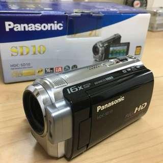 Panasonic SD-10 手提攝錄機 九成九新。100% work