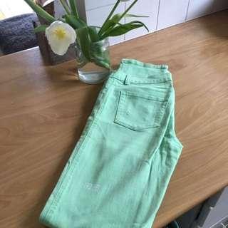 Ksubi light green jeans