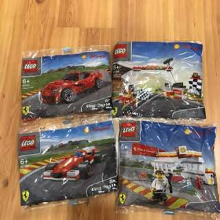 LEGO Shell Polybags Year 2014