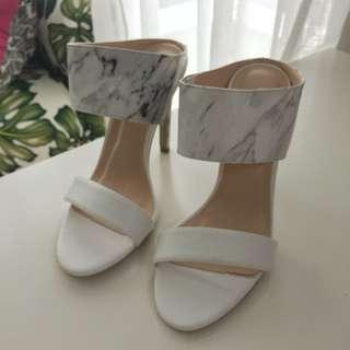 Gerobok marble heels