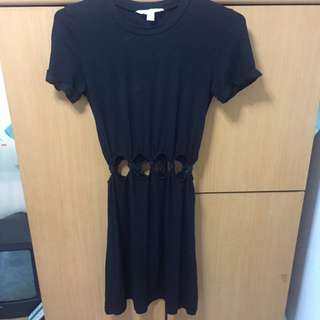 American eagle outfitters open waist dress