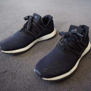 Black Adidas PureBoost Raw 2
