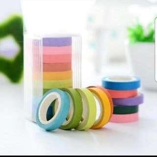 10pcs Washi tape set