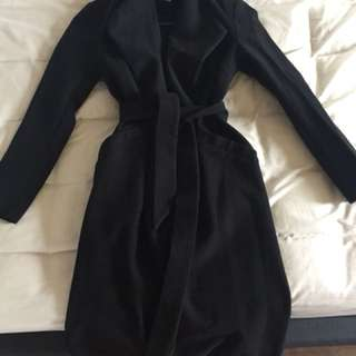 Ava&ever Black winter coat size 8