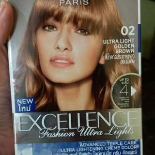 Loreal excellence ultra light GOLDEN BROWN