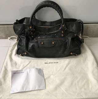 Balenciaga - Giant 12 Rose Gold City in Anthracite colour (Authentic)