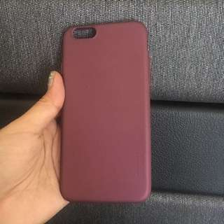 Iphone 6/6S case maroon