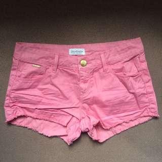 Stradivarius Pink Shorts