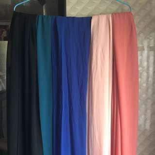 Plain shawls!