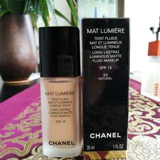 [CHANEL] Mat Lumière 50 Naturel