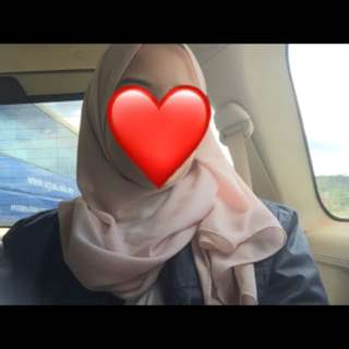 pink soft chiffon shawl