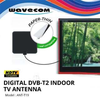 Digital TV antenna - waveform T 19