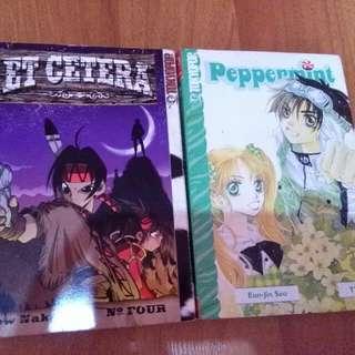 [Manga bundle] Et Cetera & Peppermint
