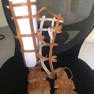 Mimco Gladiator Shoes