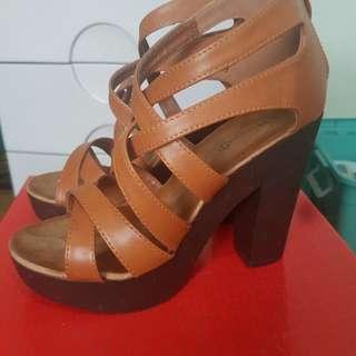 Celine Brown Chunky heels