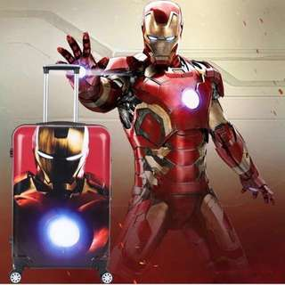 Stock In Now - Marvel Superheroes- Ironman 20inch/24inch Carry On / Check In Hand Luggage