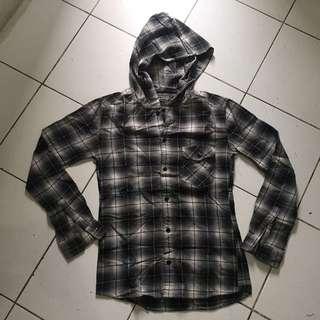 Hoodie flannel uniqlo