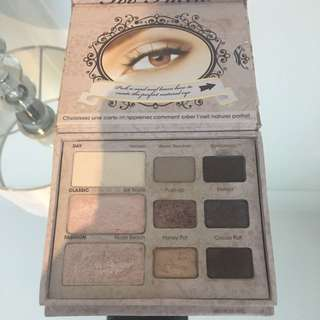 Too faced natural eyes pallete