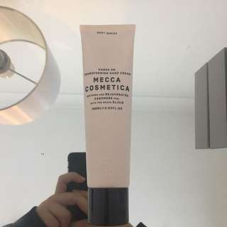 Mecca Cosmetica hand cream (used once)