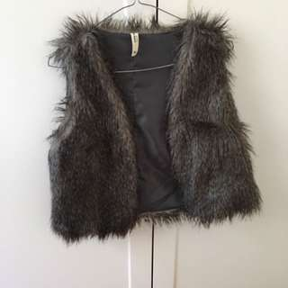 Faux fur Just Jeans vest