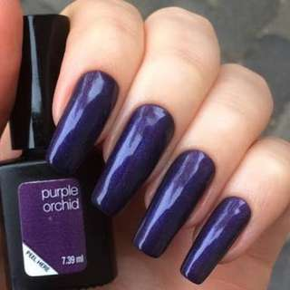 "Gel polish Sensationail ""purple orchid"""