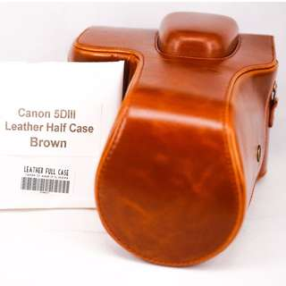 Canon 5D mark III Leather Case
