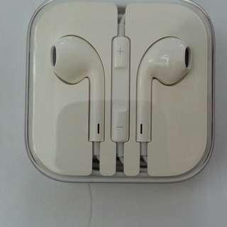 全新未開封原裝Apple 3.5mm EarPods