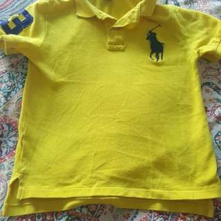 Original Ralph Lauren t-shirt for 4 to 6 year old boys