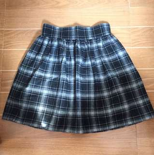 Plaid Short Skirt