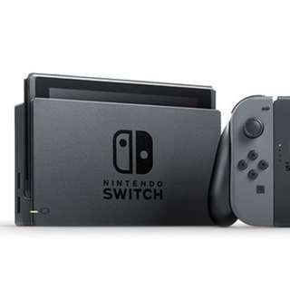 Used 9.5/10 black local set Nintendo Switch with BOTW