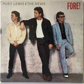 Huey Lewis And The News ‎– Fore! (1986 US Original Vinyl LP)