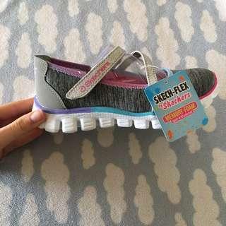 Sketch-Flex brand new girls kid shoes (memory foam) Sketchers