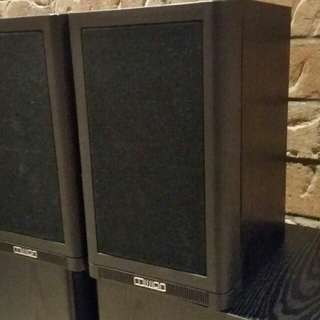 Mission Bookshelf speakers Made in England