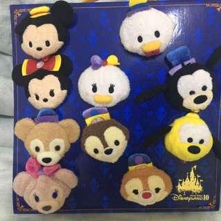 Tsum Tsum Disney 10th anniversary