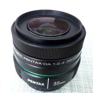 Pentax SMC DA 35mm f2.4