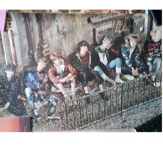 BTS You Never Walk Alone (YNWA) Right Poster
