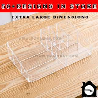 Clear Acrylic Transparent Make Up Makeup Cosmetic Jewellery Jewelry Organiser Organizer Drawer Storage Box Holder Stackable