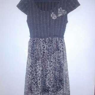 Dress leopard abu