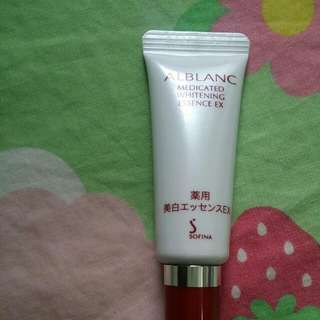 Alblanc Sofina Medicated Whitening Essence EX 高級濃縮 美白精華液 高品位 美容液 7.5g