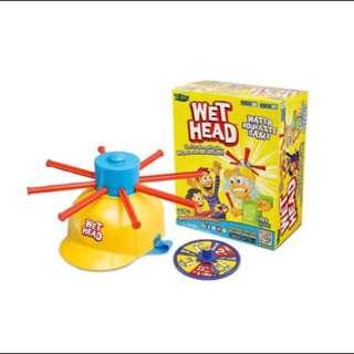 桌遊 濕水挑戰帽 wet head