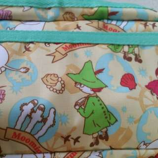 BNWT Turquoise and Yellow MOOMIN Character Pencil Case