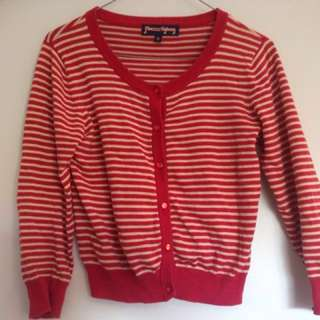 Striped cardigan princess Highway size 10