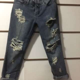 Oneteaspoon Boyfriend Jeans size 8