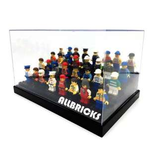 - Sold Out - 4-Tier Minifigure Acrylic Display case * For Minifigs Without Base Plate *