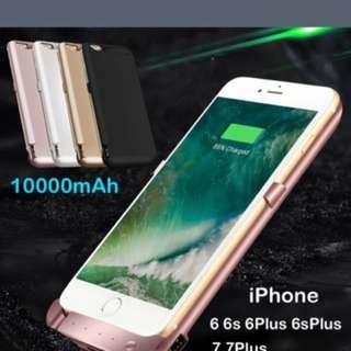 Power Bank Charging Case For iPhone 6/6s,iPhone 6 Plus/6s ,iPhone 7(free Shipping No Pickup Or Meet up)