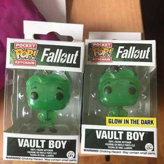 Pocket pop! Glow in the dark Vault boy
